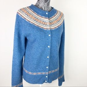 J.Crew Wool Vintage Sweater/Cardigan